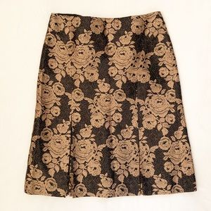 Ann Taylor Floral Skirt - Like New